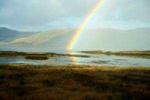Rainbow on Mull