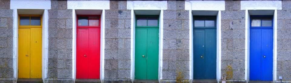 Erraid doors